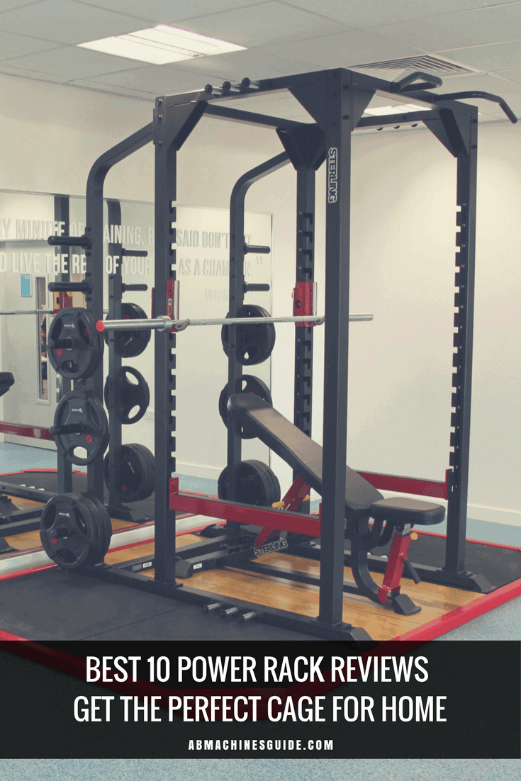 Do you want to buy a power rack? Here is the guide you need. Reviews and comparison of the best cages, buyer\'s guide and deals to save a lot. #powerrack #homegym