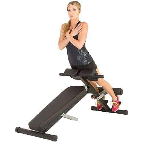 roman chair hyperextension bench