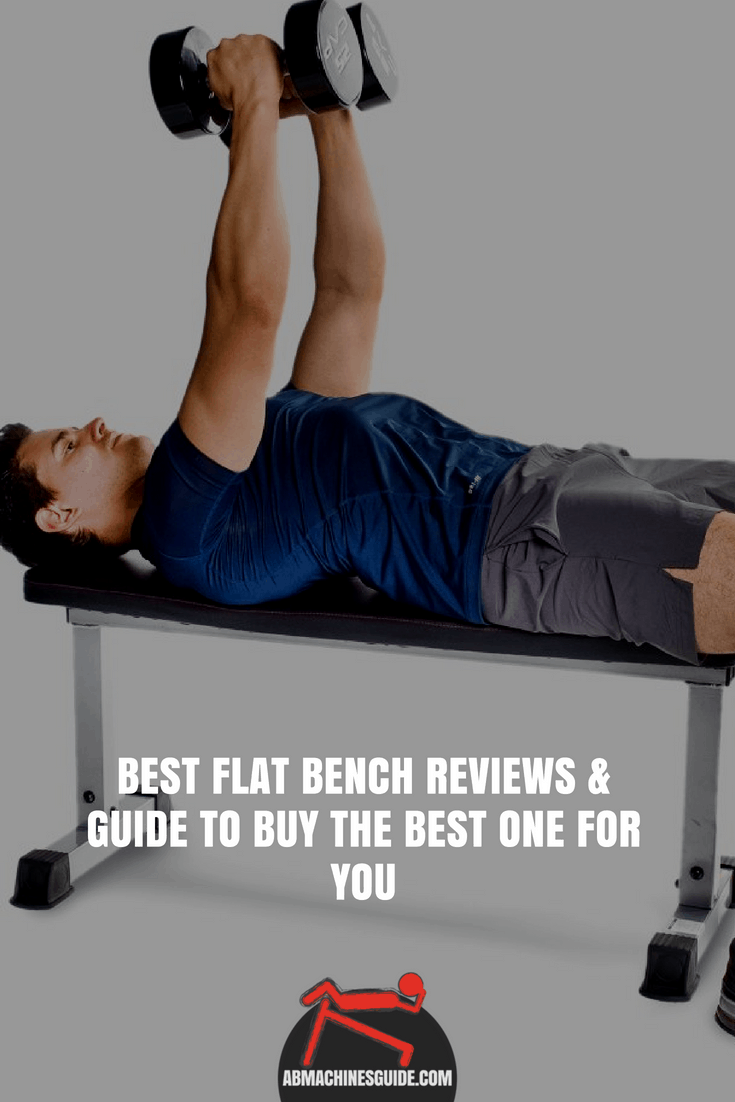 Learn what to look for when buying a flat bench and check the best benches to get the most suitable one for your workout. #homegym #flatbench